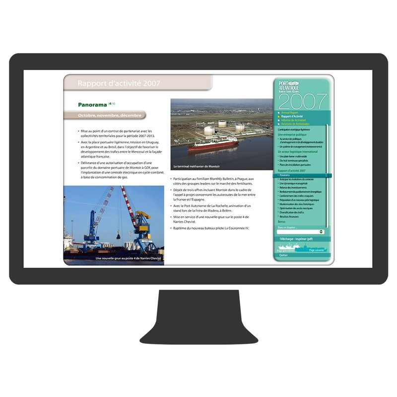 R f rences port autonome nantes saint nazaire agence de communication id pop - Port autonome de nantes saint nazaire ...