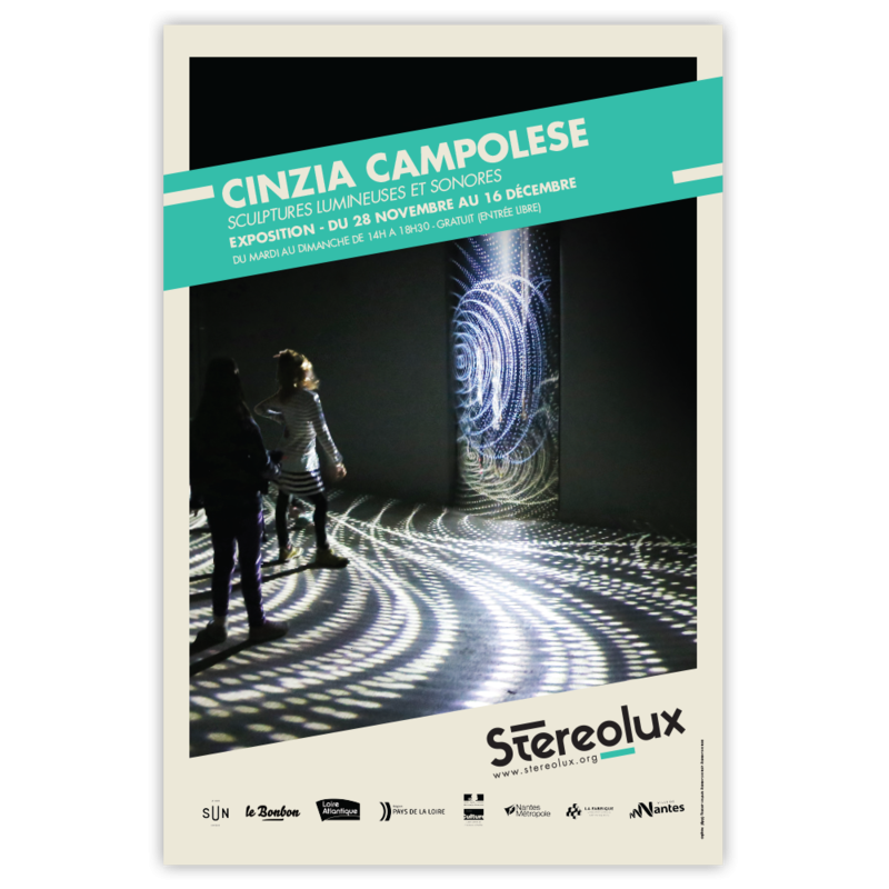 Stereolux Cinzia Campolese | Affiches