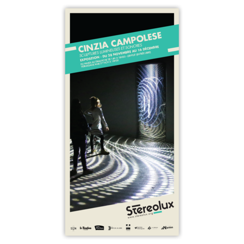 Stereolux Cinzia Campolese | Affiche